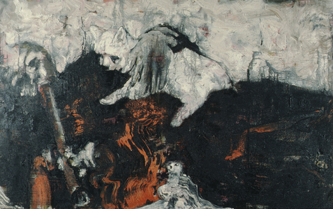 Arlan Huang SF Genthe 1984 - 1985 Oil on Canvas