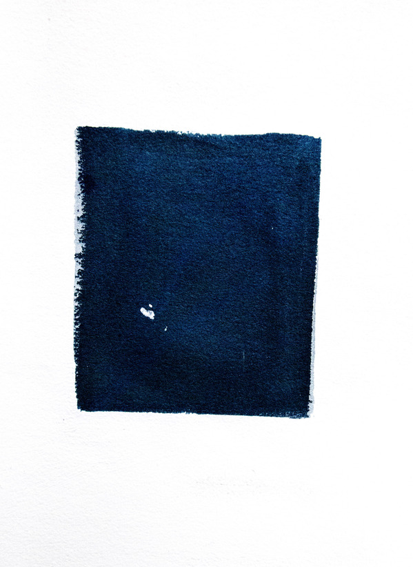 Cyanotypes Abstract #5