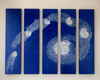 COSMOS acrylic/birch panels