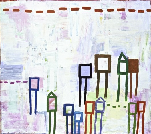 Terri Rolland Many, Some, Few 2004 Acrylic on Canvas