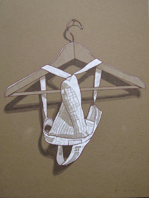 Brown Paper Series Hanging Jock
