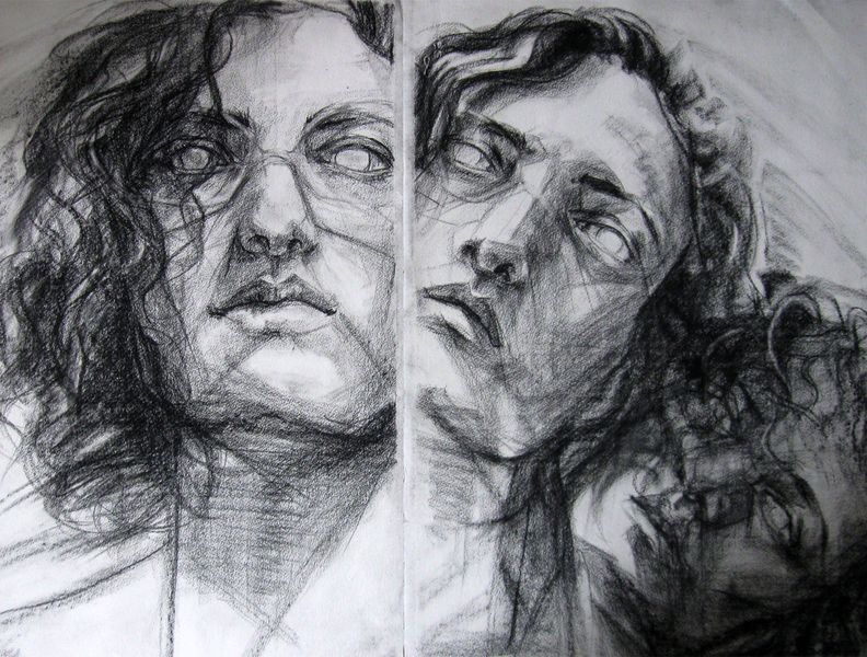 Theresa Antonellis : student art work : drawing & composition ...