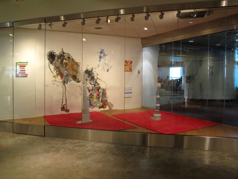 Installations of Exhibitions Mixed Media