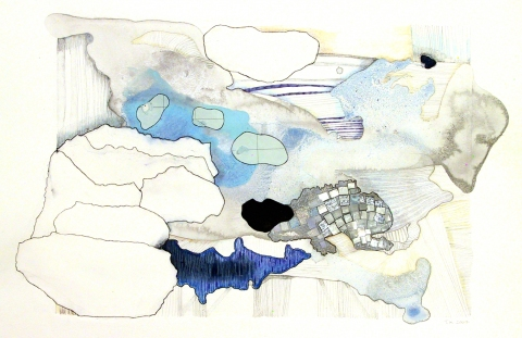 Drawings  Mixed media on BFK paper