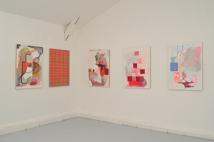 Paintings Installations Moving From Paper to Wood