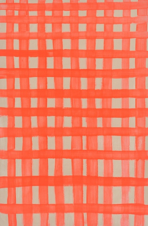 Small Paintings 2016-2014 Red Grid