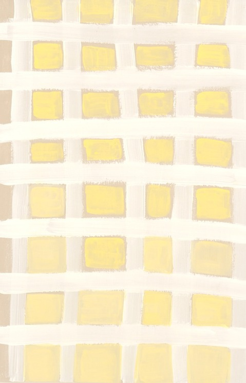 Small Paintings 2016-2014 Yellow Grid