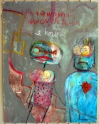 thomas fernandez Paintings 2002-2007 mixed media on paper