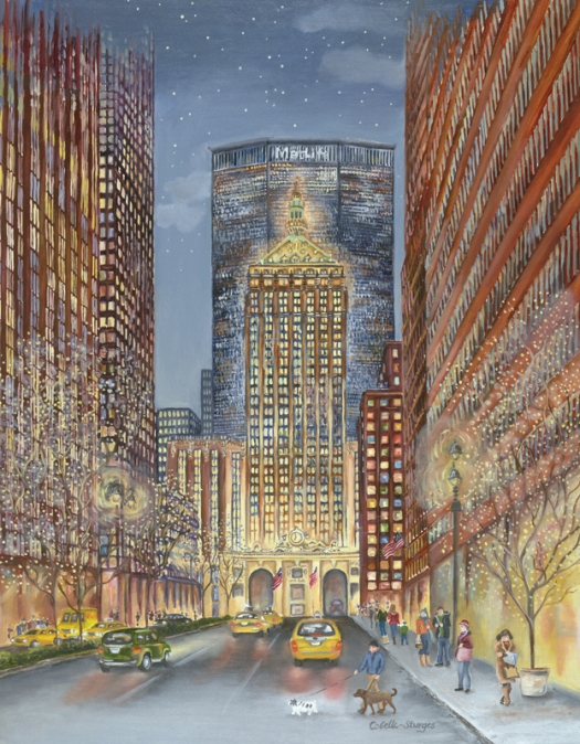 Tina Cobelle-Sturges New York oil on canvas