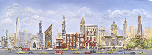 Tina Cobelle-Sturges New York oil on linen