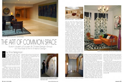 Tina Seligman The Art of Common Space -- Photographer Carlos Esguerra