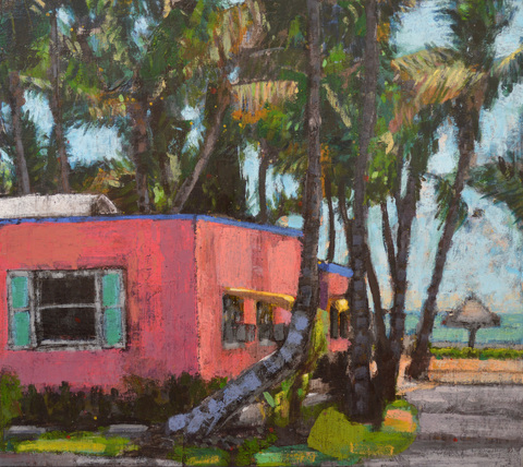 TODD MOORE Florida Paintings 1991-2014 acrylic/birch panel