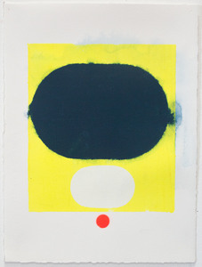 tom martinelli paper, recent acrylic, fluorescent acrylic on paper