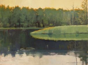 Tom Maakestad Marine on St. Croix River Paintings Oil on Linen Panel