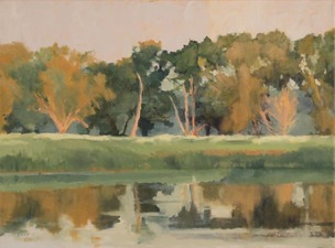 Tom Maakestad Marine on St. Croix River Paintings Oil on Canvas