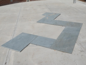 Tom McGlynn Social Sculpture Projects Blue Slate