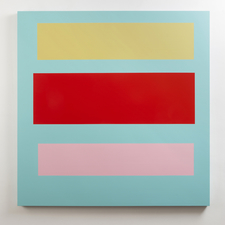 Tom McGlynn Paintings, Work on Paper Acrylic/ gouache on wood panel