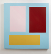 Tom McGlynn Paintings, Work on Paper Acrylic/gouache on birch panel