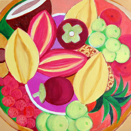 Food Exotic Fruit Bowl