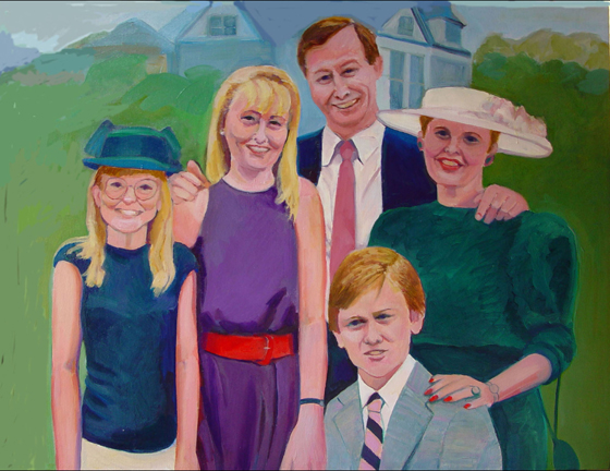 Figurative Michael Schowalter & Family