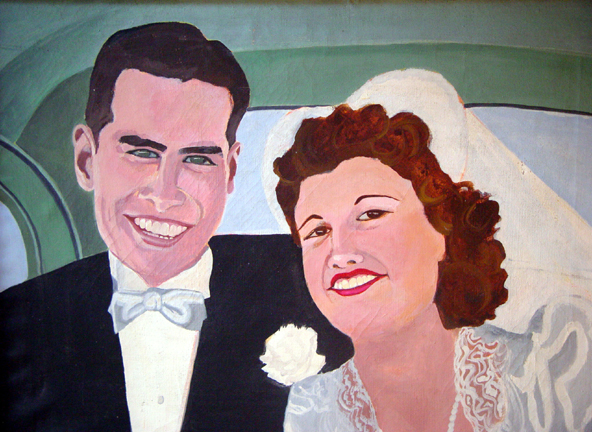 Figurative Just Married SOLD