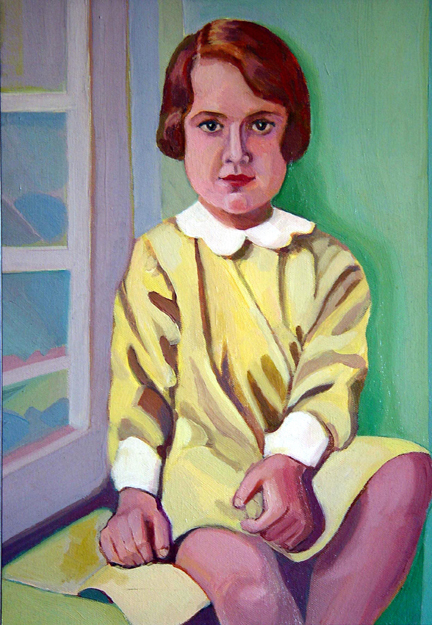 Figurative Young Gladys