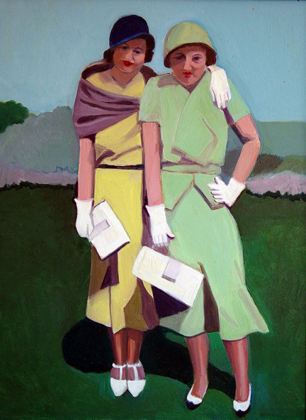 Figurative Frances and Ruth NFS