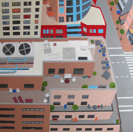 Aerialscapes NYC Terrace SOLD