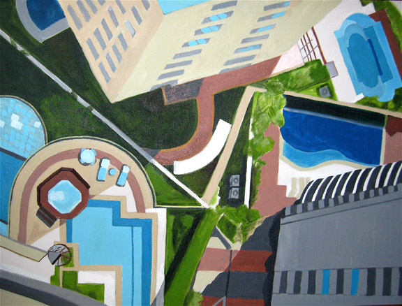 Aerialscapes Sao Paulo Pools SOLD