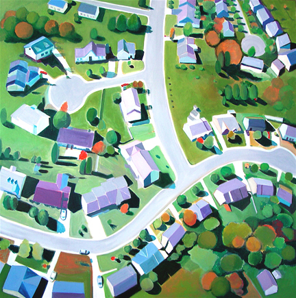Aerialscapes Ohio Suburb SOLD