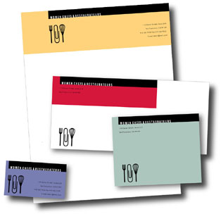 ToniDesign Women Chefs & Restaurateurs Stationery