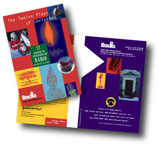 ToniDesign Radio Advertising Bureau Holiday CD Mailer