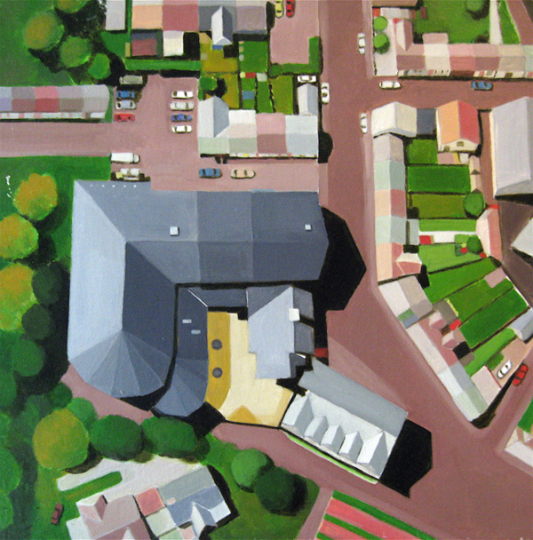 Aerialscapes Cwmaman Institute, UK SOLD