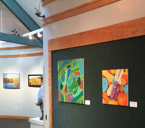 "Exhibitions Images ""Crackle"" show at Rockefeller Park Gallery"