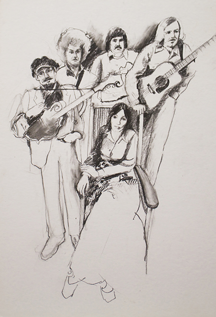 Figurative Country Music Band