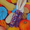 Food acrylic on canvas