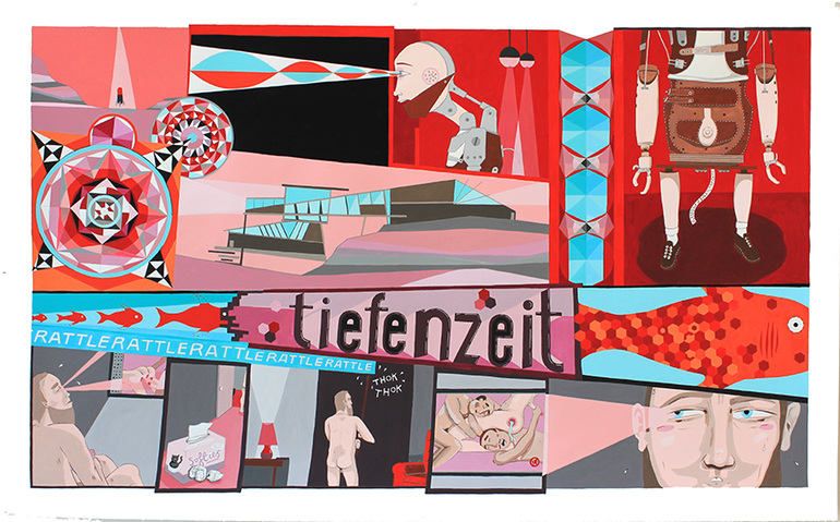 Tricky Walsh tiefenzeit - paintings