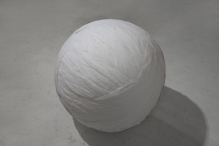 UJIN LEE installation  tissue paper