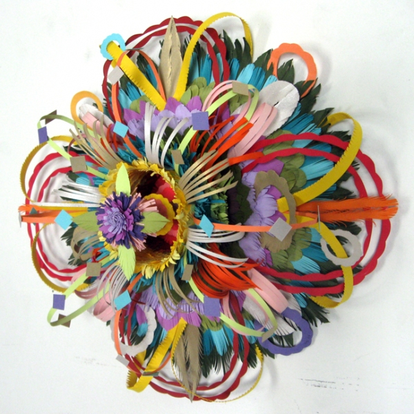 Early Paper Sculpture Circle (Flowering)