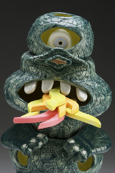 Ceramics Cyclops Dragon