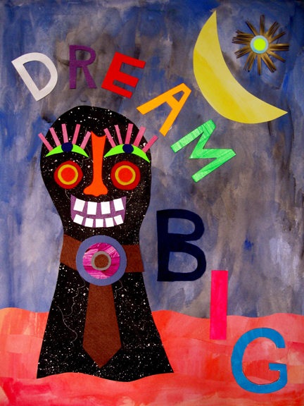 Drawing, Painting & Collage Affirmations (Dream Big)