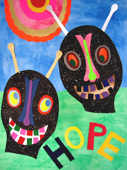 Drawing, Painting & Collage Affirmations (Hope)