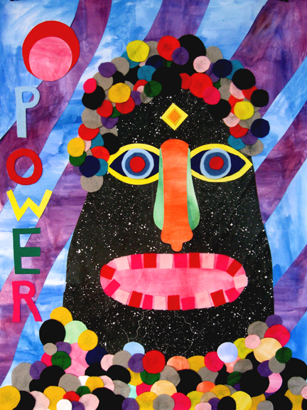 Drawing, Painting & Collage Affirmations (Power)