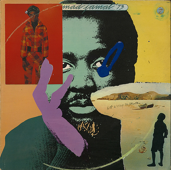 Victor Davson Dub Factor: Heroes Acrylic and collage on treated vinyl LP record album cover