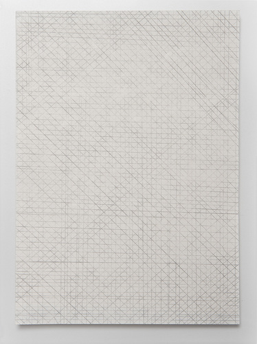 VICTORIA BURGE Notations  pencil on butcher paper
