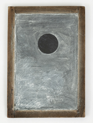 VICTORIA BURGE Objects chalk on Shoolhouse slate