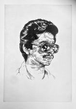 VINCENT VALDEZ PRINTMAKING Hand pulled photogravure