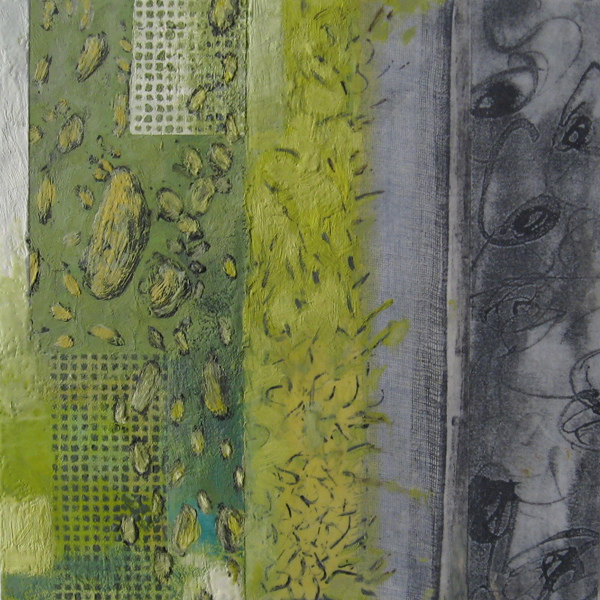 Mitchell Visoky Archived Paintings Encaustic, oil stick, paper