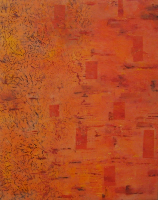 Mitchell Visoky Paintings Encaustic, monotype