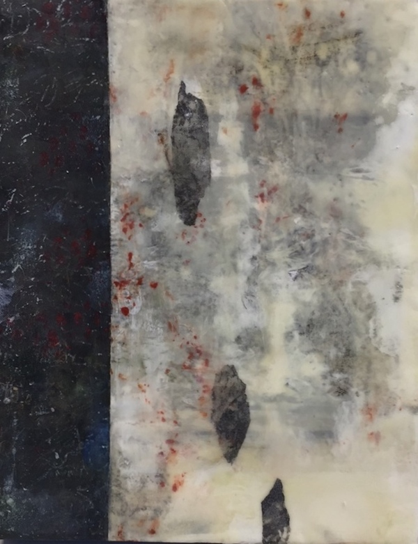 Mitchell Visoky Paintings Encaustic, monotype, toner